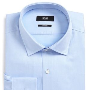 Boss Marley Sharp Fit Dress Shirt, Size 16.5